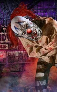 So who's afraid of #clowns? #Horror #Photography