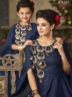 3c0378955007c 7 Best Karma Tucute Mother & Daughter Designer Gown Collection TC ...