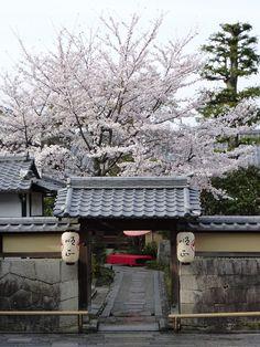 Japanese shrine or house
