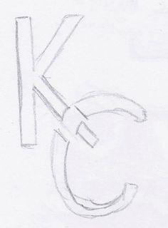 Logo schets