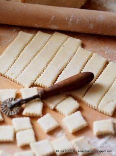 Polish Desserts, Polish Recipes, Dessert Dishes, Dessert Recipes, Brownie Recipes, Cookie Recipes, Delicious Desserts, Yummy Food, Bread Cake