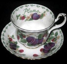Royal Albert -Plums  1994 to 2004