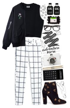 """""""A Night Out Alone"""" by tofulover ❤ liked on Polyvore featuring MANGO, Aquazzura, LEXON, Monday, Umbra and RetroSuperFuture"""
