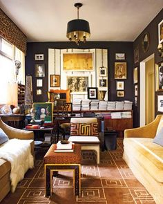 Home in Brazil from Habitually Chic.