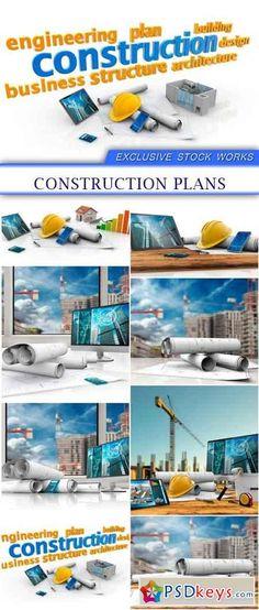 Construction plans 8X JPEG 32 MB