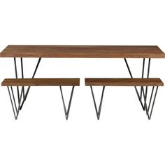 "dylan 36""x80""dining table in dining tables 