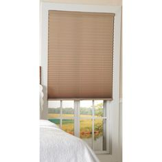 Light Filtering Taupe Cordless Pleated Shades - Overstock™ Shopping - Great Deals on Blinds & Shades