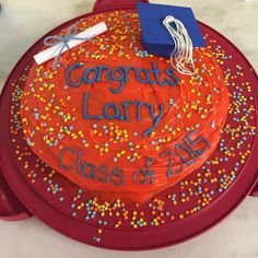 Graduation cake from the University of Illinois Urbana Champaign for my boyfriend