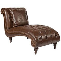 leather chaise chair | ... Shopping Home & Garden Furniture Living Room Furniture Lounge Chairs