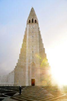Hallgrímskirkja - Reykjavik, Iceland