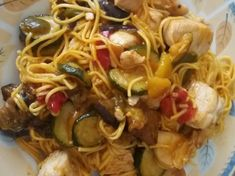Spaghetti, Food And Drink, Meat, Chicken, Cooking, Ethnic Recipes, Kitchen, Noodle, Brewing