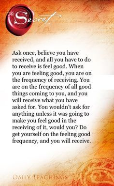 The Secret ~ Law of Attraction ❤ From the book The Secret Hero, one of the most inspirational books, recommended by a friend.