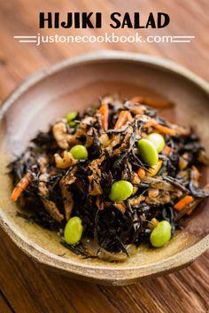 Hijiki Seaweed Salad (ひじきの煮物) | Easy Japanese Recipes at JustOneCookbook.com
