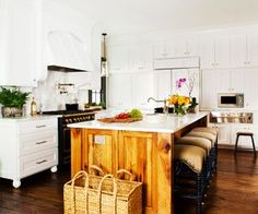 Designer Ili Nilsson renovates a family kitchen to bring back the historical character of a home built in the 1900s.
