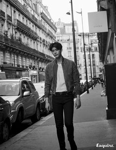 Lee Jong Suk did a pictorial and interview with Esquire for the November issue and we're wondering why he's not smiling? And what is the point of shots of his back when we prefer to see… Asian Actors, Korean Actors, Korean Dramas, W Two Worlds Wallpaper, Lee Jong Suk Wallpaper, Kang Chul, Song Joong, Park Hyung, Park Seo Joon
