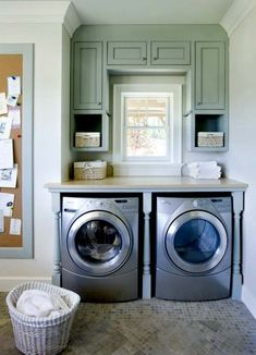 Practical Home laundry room design ideas 2018 Laundry room decor Small laundry room ideas Laundry room makeover Laundry room cabinets Laundry room shelves Laundry closet ideas Pedestals Stairs Shape Renters Boiler Laundry Room Remodel, Basement Laundry, Small Laundry Rooms, Laundry Room Organization, Laundry Room Design, Laundry Nook, Laundry Closet, Laundry Table, Laundry Storage