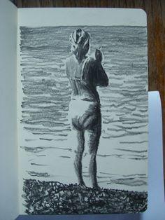 Moleskine #k34 graphite pencil drawing