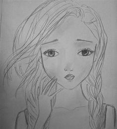 girl's face 3