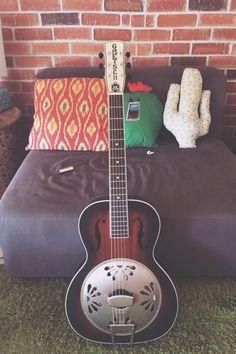 Gretsch Alligator Resonator Guitar