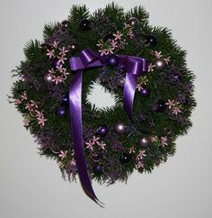 Weihnachtskranz  von Monis-Dekozauber auf DaWanda.com