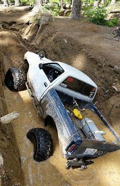 Toyota Crawler Mud Pit