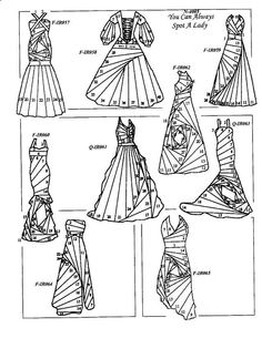 Rubber stamps for Iris Folding!!  All you need is an aperture and a plan. Rubber Stamps for Iris Folding - Beautiful gowns and many more designs