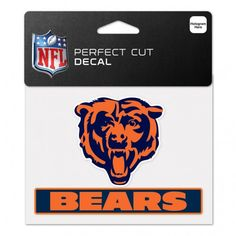 NFL Perfect Cut Decals are made of outdoor vinyl, permanent adhesive, image cut to the outside dimension of the logo, and full color detail. Made in the USA by Wincraft