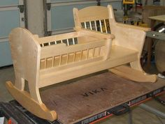 Need plans for rocking doll cradle - by pops4ember @ LumberJocks.com ~ woodworking community