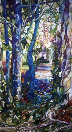 Blue Garden Glass Mosaic
