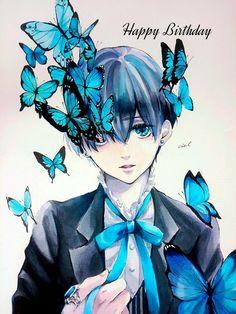 Happy Birthday Ciel! Black butler, Kuroshitsuji, Ciel Phantomhive
