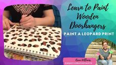 Painting Cheetah or Leopard print - YouTube How To Gain Confidence, Learn To Paint, Wooden Doors, Cheetah, The Creator, Tie Dye, Artisan, Youtube, Painting