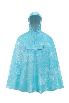 FINCH 100% rPET Rain Cape - Adult Short – FINCH Designs Poncho Design, Rain Cape, Rain Wear, Raincoat, How To Wear, Jackets, Outdoor, Collection, Fashion