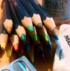 Secrets for Using Derwent Inktense Colored Pencils