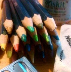 Secrets for Using Derwent Inktense Colored Pencils