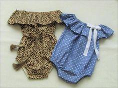 Off the shoulder baby romper pattern Baby Romper Pattern