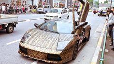 Lamborghini couleur leopard