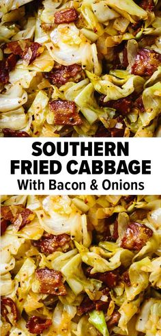 Southern Fried Cabbage (Smoky & Delicious!)