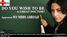 Like and Share  ‪#‎myMBBSabroad‬ ‪#‎MbbsOverseas‬ ‪#‎Education‬ ‪#‎Caribbean‬ ‪#‎Philippines‬ ‪#‎Malaysia‬ ‪#‎UK‬ ‪#‎USA‬ ‪#‎China‬
