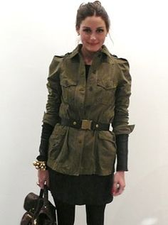 Olivia Palermo - Today I'm Wearing series from Vogue UK (April 2010)