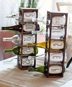 Message in a Bottle – Guests write advice to the bride and groom for anniversary number of their choice. Bride and groom cannot open or read until they reach that anniversary.