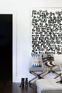 One Room Challenge Week 6 // The Reveal (Hunted Interior) Art Minimaliste, Statement Wall, Diy Home Improvement, Minimalist Art, My New Room, Sweet Home, Room Decor, House Design, Design Design
