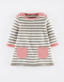 Stripy Knitted Dress - Boden
