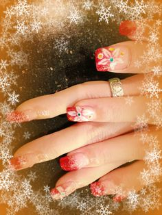 Nails art for Christmas !