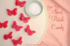 Low-Carb Sour Patch Candy from Mind Body Health Low Carb Candy, Keto Candy, Sour Candy, Low Carb Sweets, Low Carb Desserts, Gelatin Recipes, Candy Recipes, Stevia Recipes, Yummy Recipes