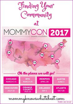 Finding Your Community at MommyCon (and MommyCon Promo Code!) #mommycon #parentsquad