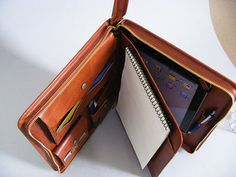 Apple iPad Portfolio Case and Briefcase with by Socraftleather