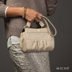 The use of classic neutral hues is a trend that will never go out of style. When you're gearing up for the day, you want a clean palette from which to build your look.    Miche bags can be purchased at www.bagsbylaurie.miche.com