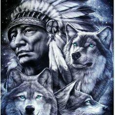 native american indians 48 Ideas Tattoo Wolf Indian Native Americans Two Wolves For 2019 Native American Wolf, Native American Tattoos, Native Tattoos, Native American Pictures, Native American Artwork, Native American Quotes, American Indian Art, American Indians, Native American Drawing
