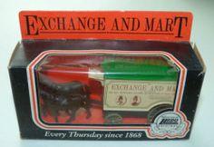 Lledo Days Gone van: Exchange & Mart (3)