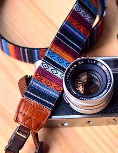 Beautiful camera strap